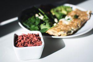 Breakfast full of nutrients with Goji berries
