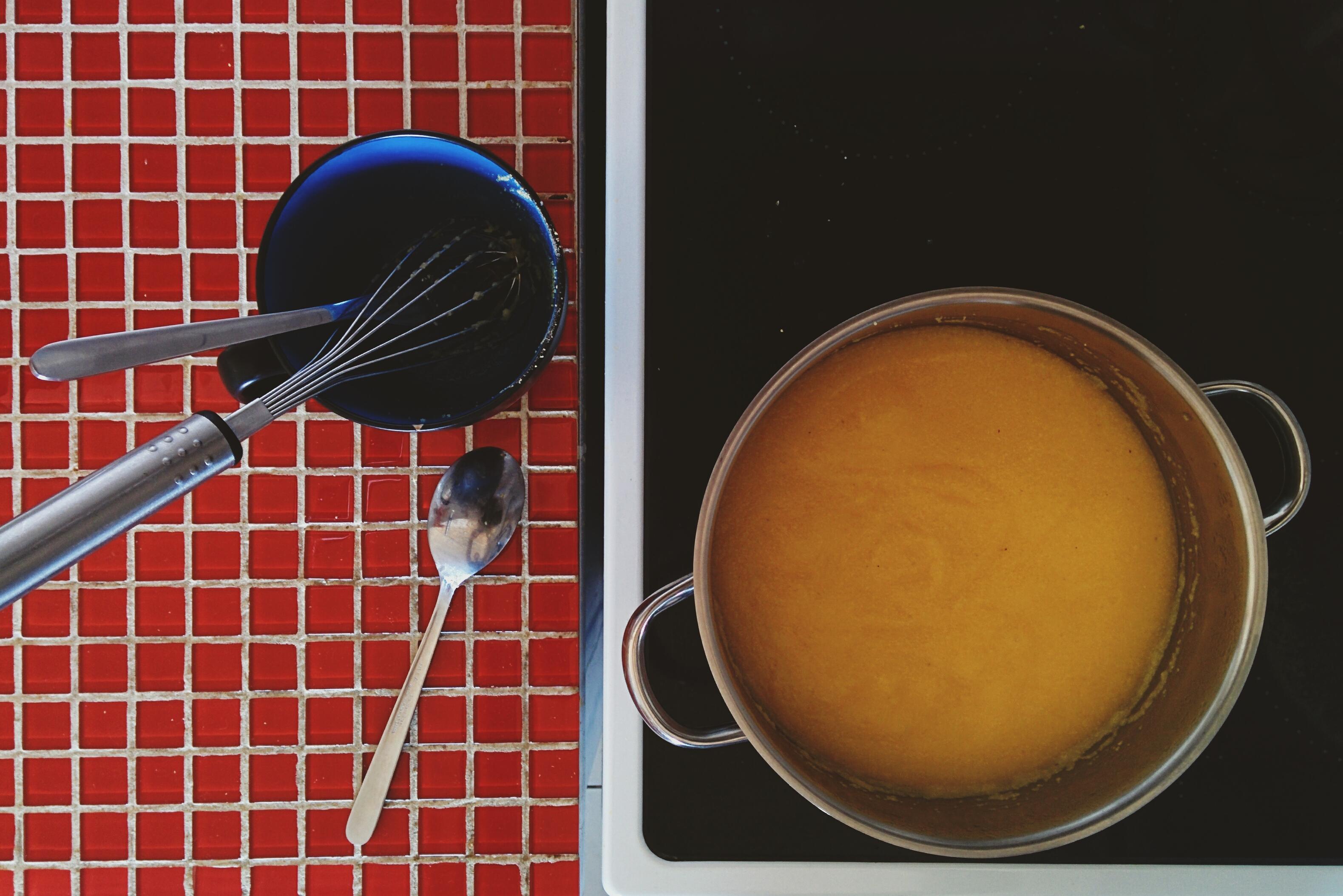 Cooking Italian polenta