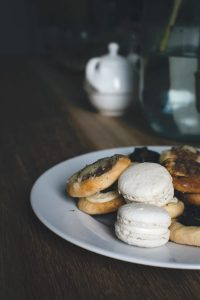 Homemade sweet pastry on a table