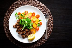 Paleo ground beef with vegetables