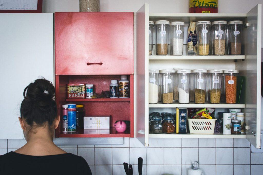 Vintage kitchen at home
