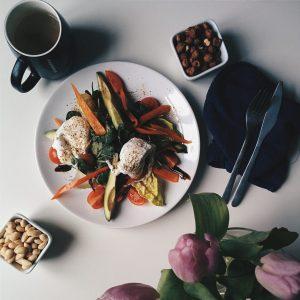 Proper healthy paleo breakfast