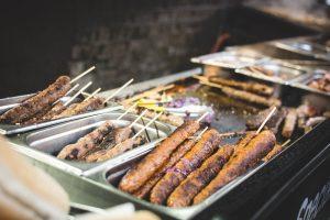 Ground meat on a stick