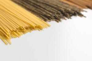 Spaghetti tricolora