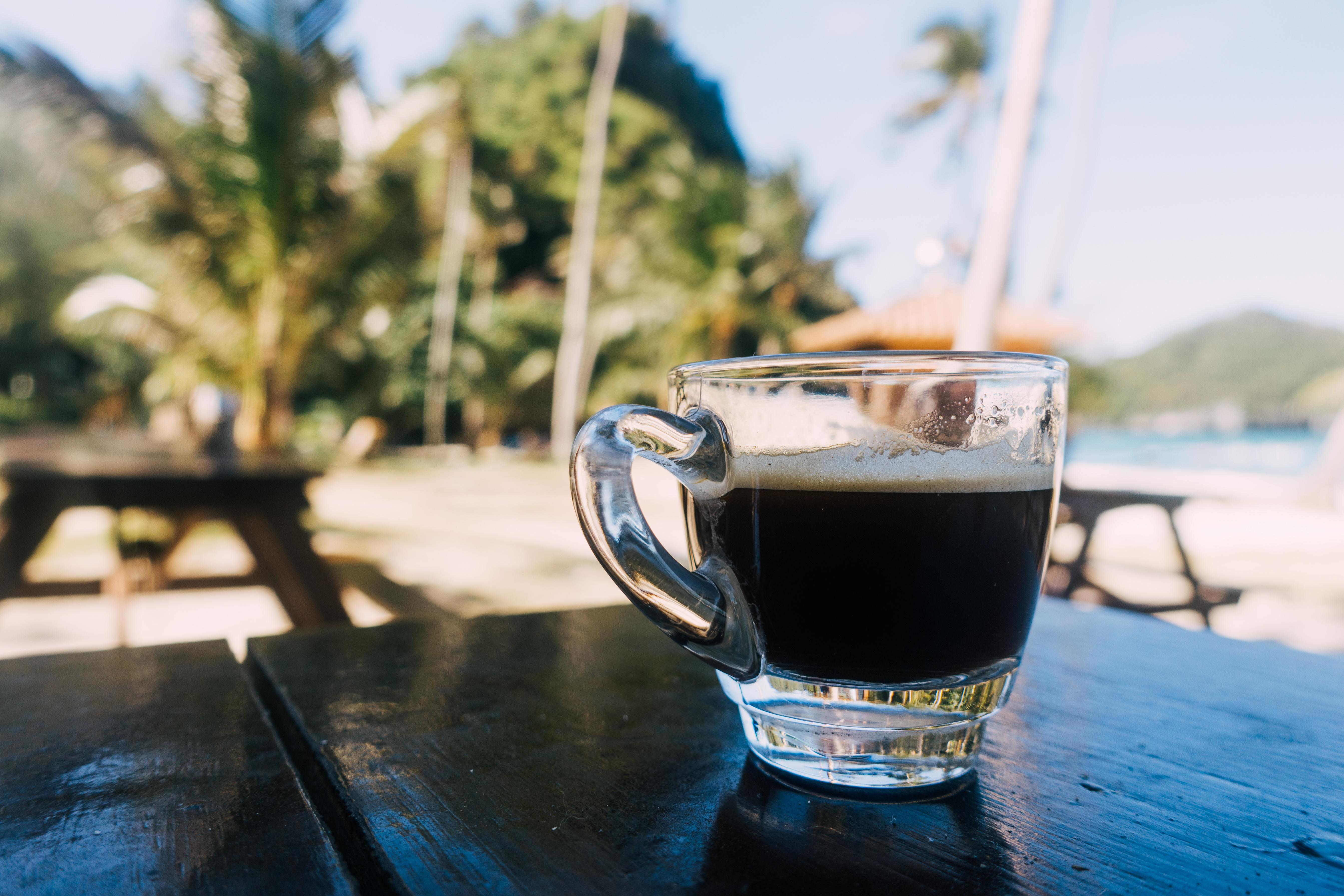 Espresso in Thai paradise