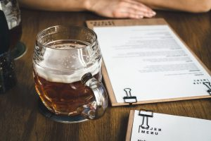 Beer before meal