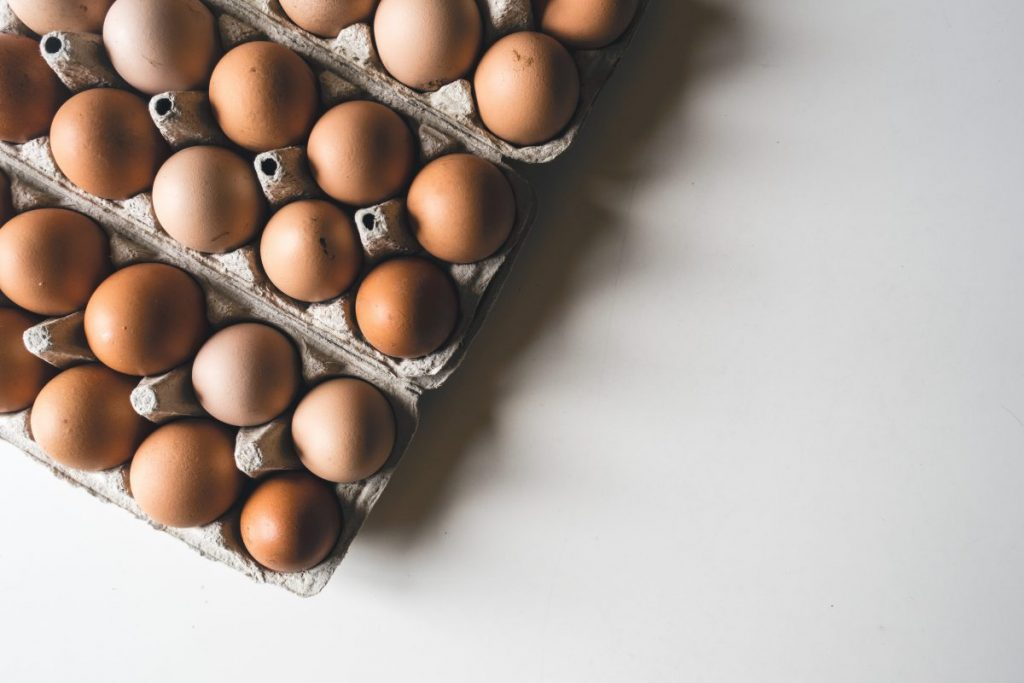 Eggs in a shadow
