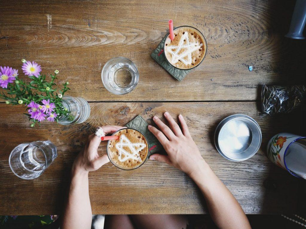 Cong café in Vietnam