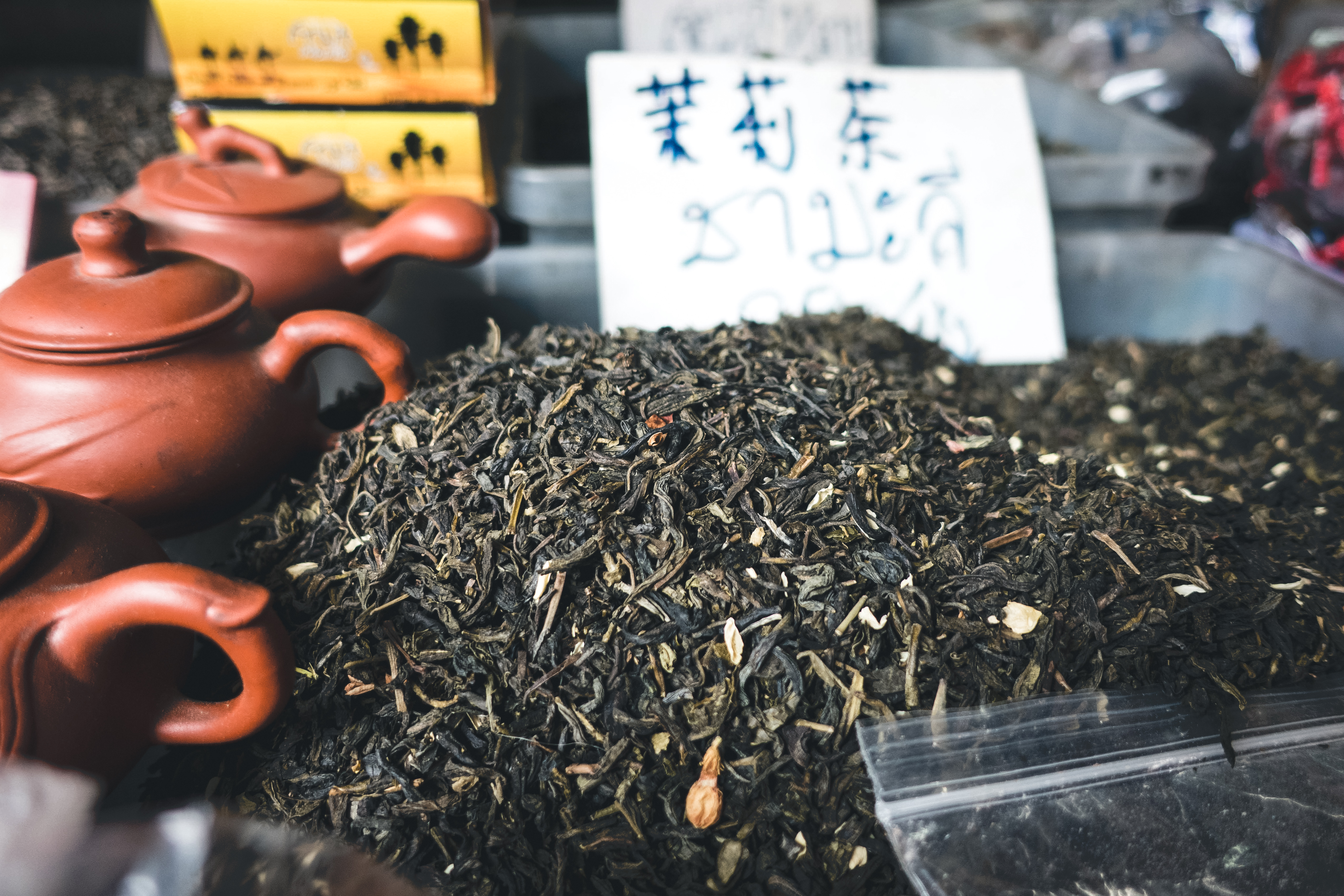 Green tea leaves for sell