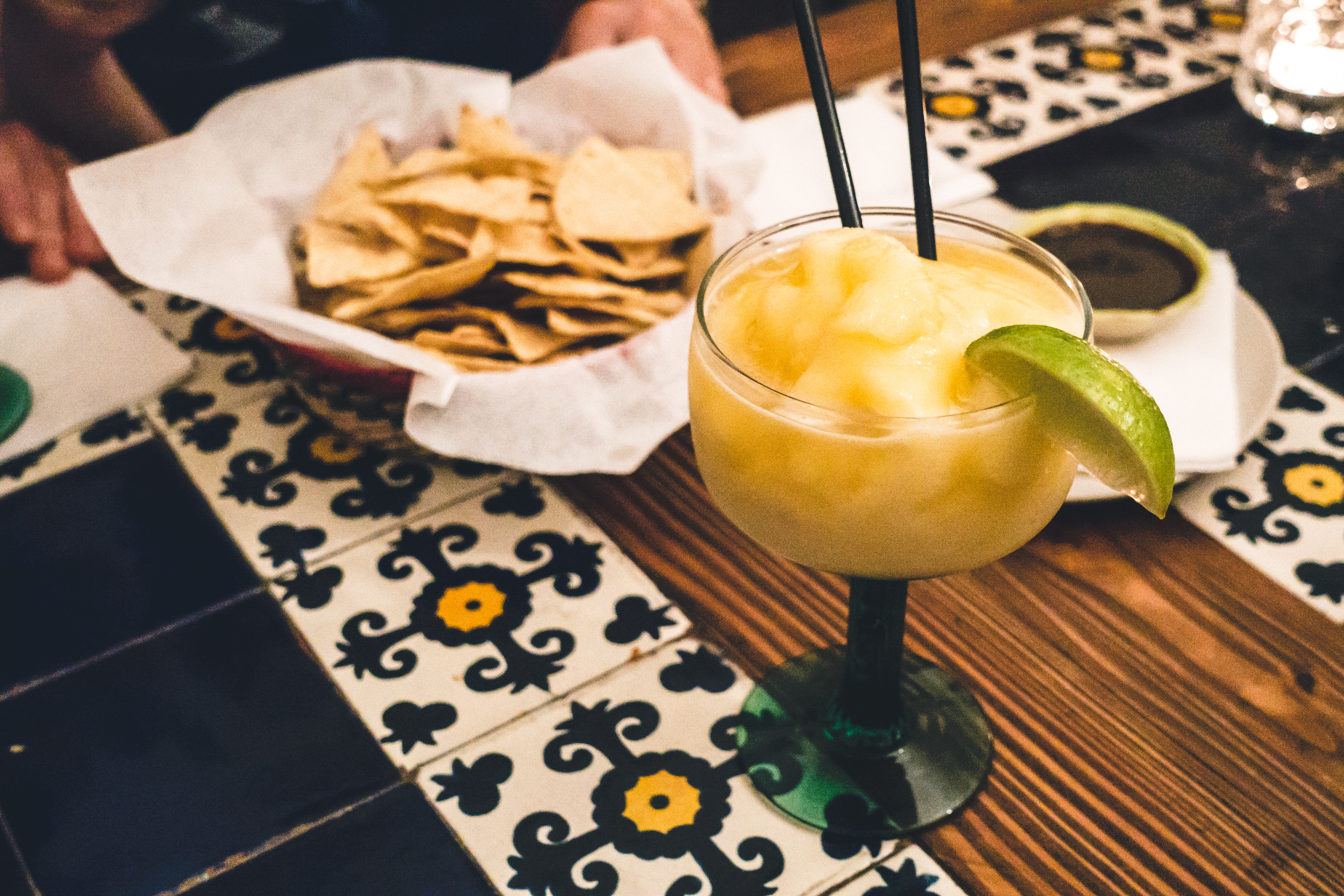 Mexican lemon Margarita