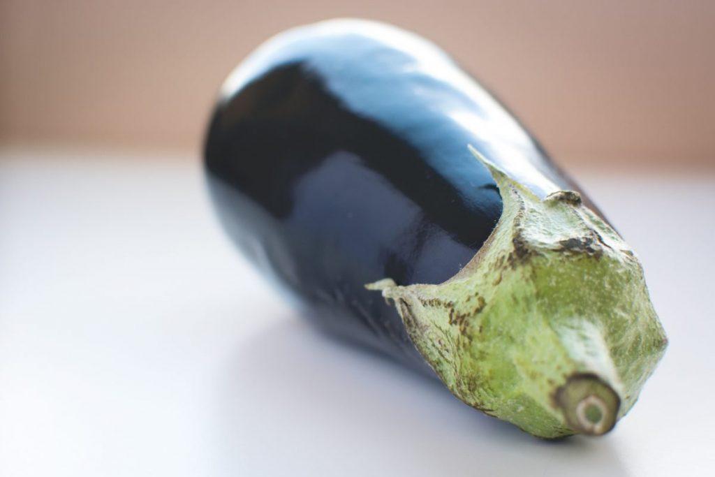 Wonderful healthy eggplant