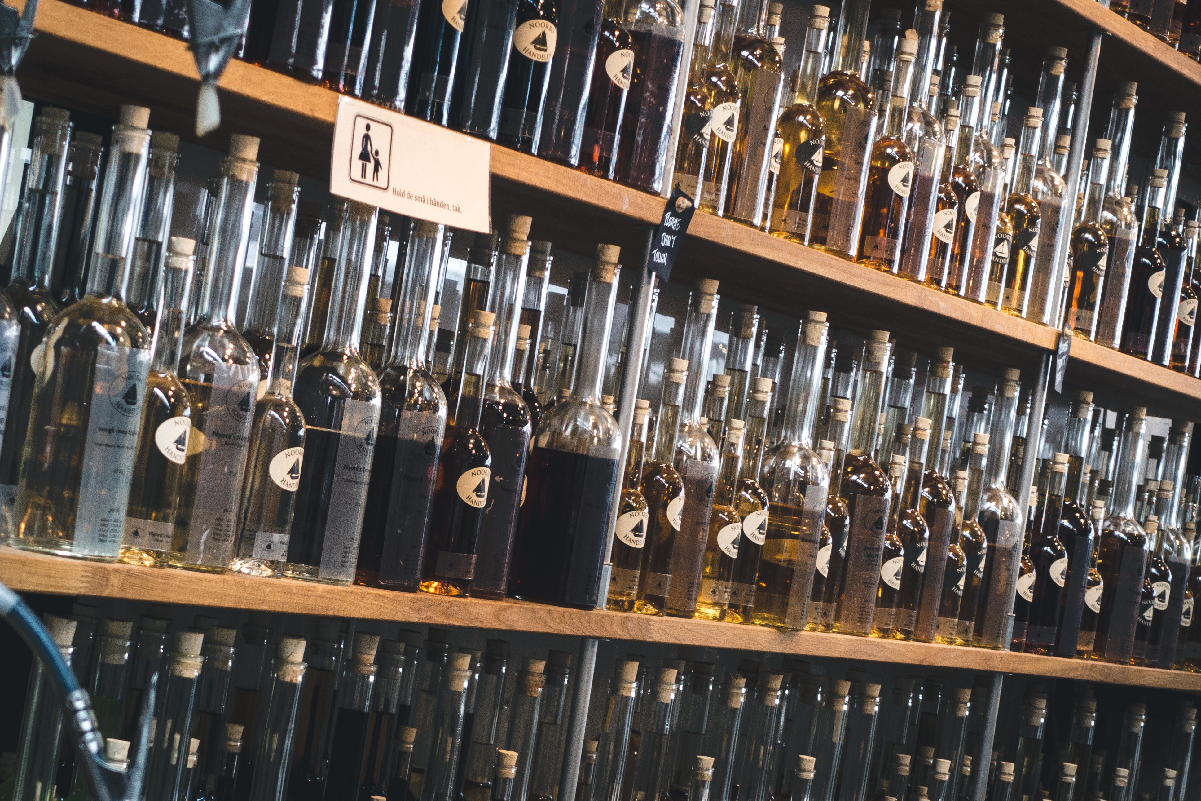 Homemade liquers store