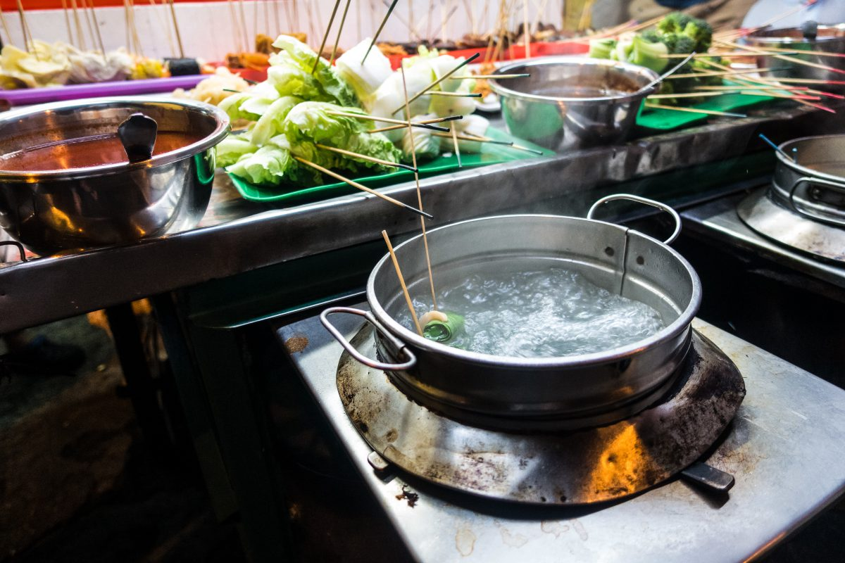 Malaysian Lok Lok hot pot