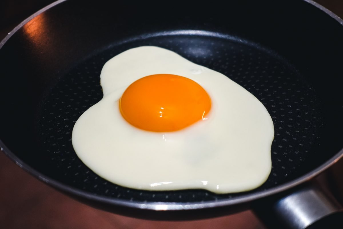 Picture perfect sunny side up egg