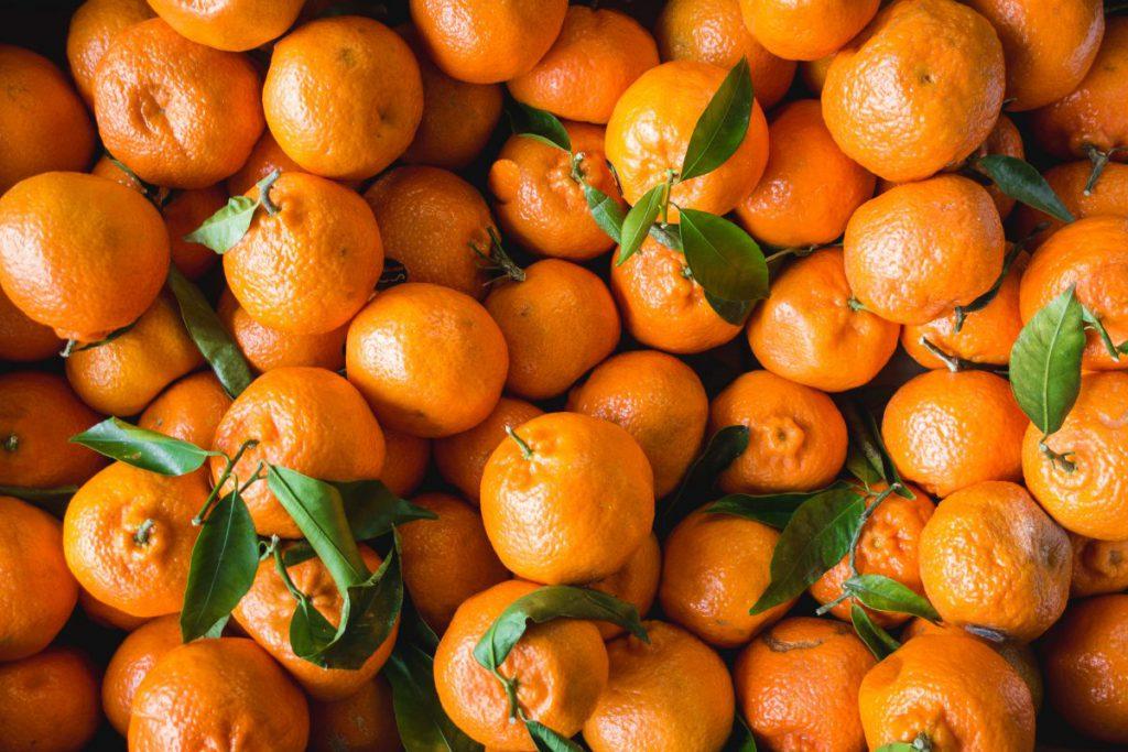 Just tangerines