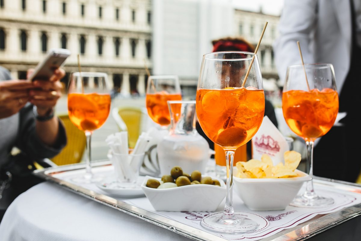 Aperol Spritz with friends