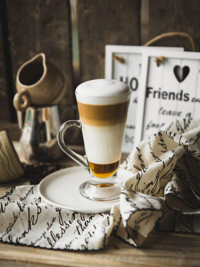 Caffè latte with perfect foam