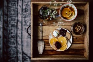 Dreamy sweet breakfast