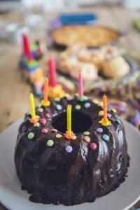 Birthday Party Choco Cake