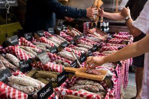 Buying organic sausages