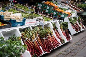 Market in Copenhagen