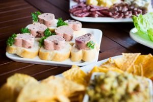 Summer party small bites