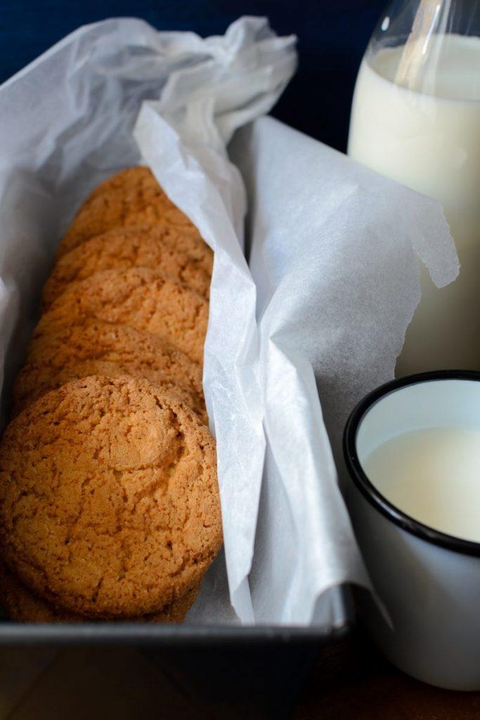 Cookies with milk