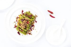 Dry Sauteed String Beans