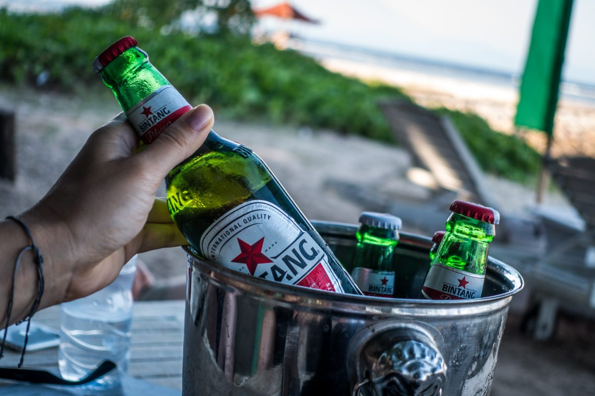 It's Bintang beer time