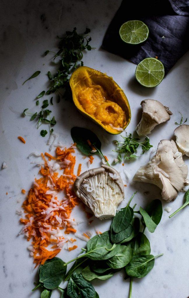Bao buns ingredients