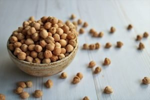 Chickpea in a bowl