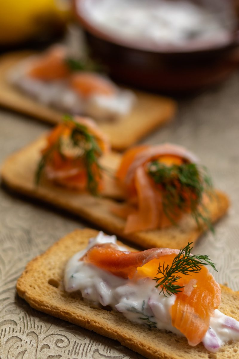 Easy Gravlax appetizer