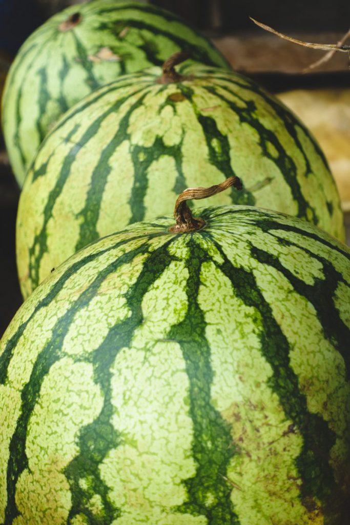 Fresh watermelon close up