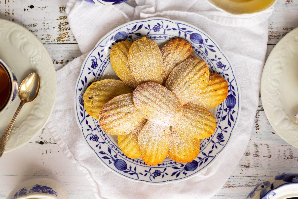 Madeleine biscuits