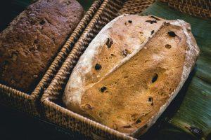 Bread in a bakery shop