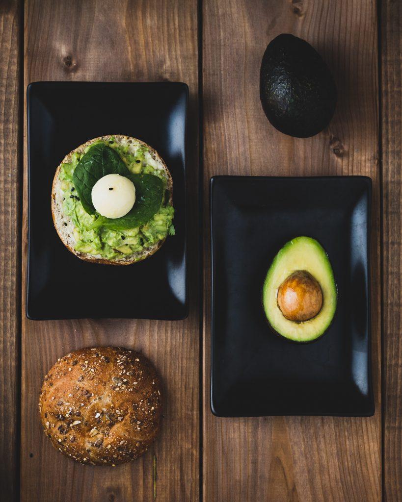 Preparing avocado sandwich