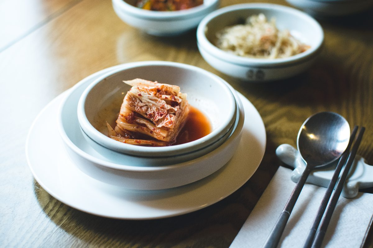 Traditional Korean fermented sauerkraut Kimchi