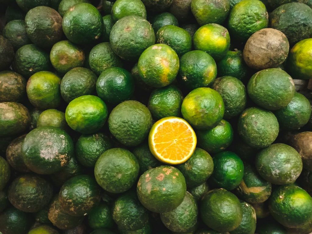 Green oranges