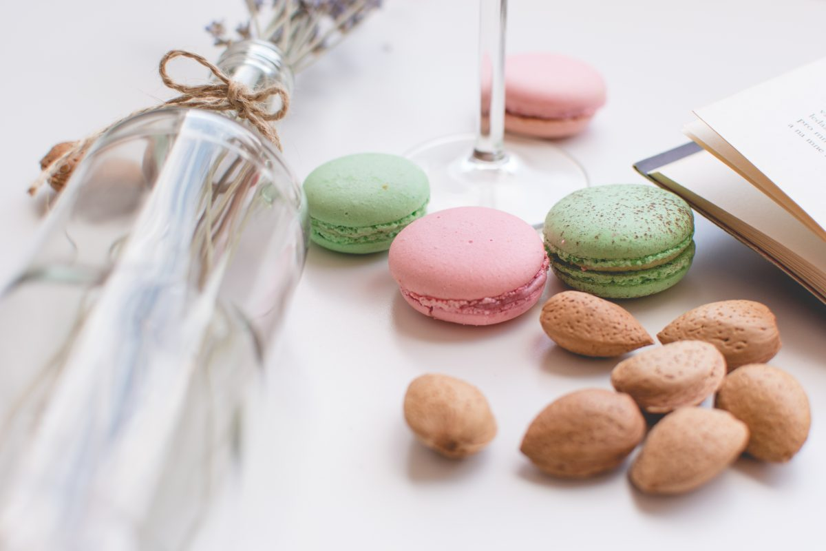 Sweet macarons scene