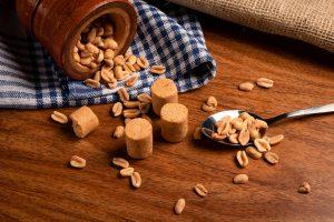 Brazilian homemade peanut candies