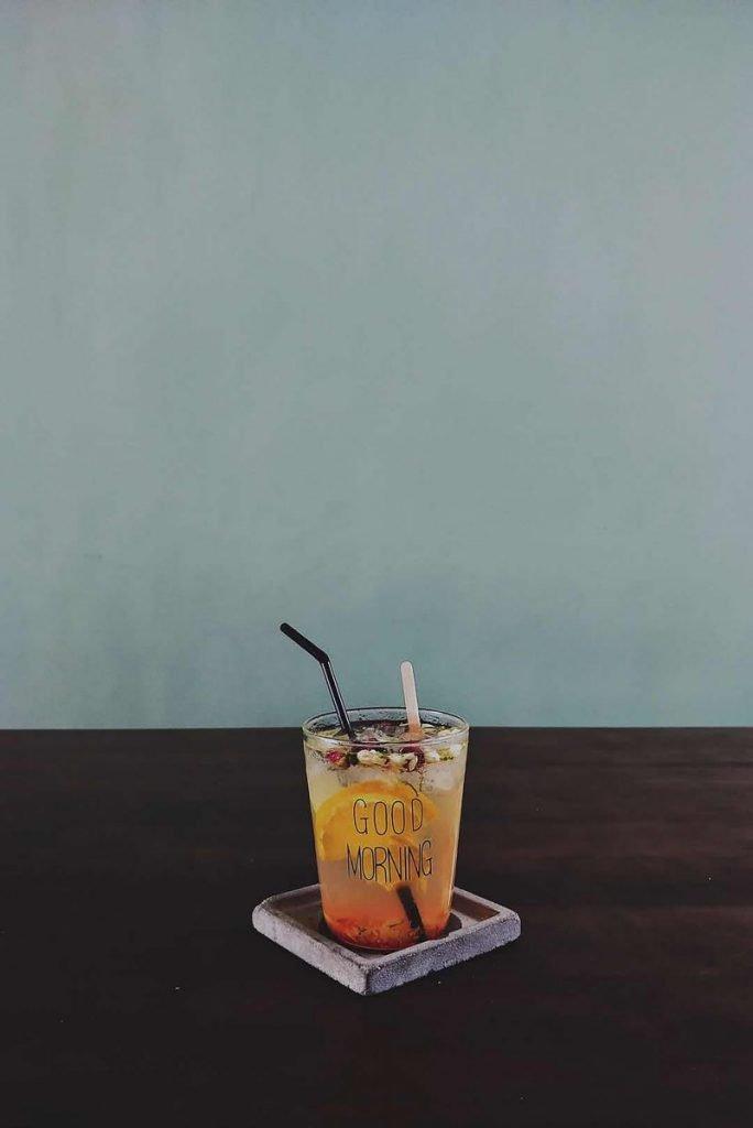 Summer good morning drink