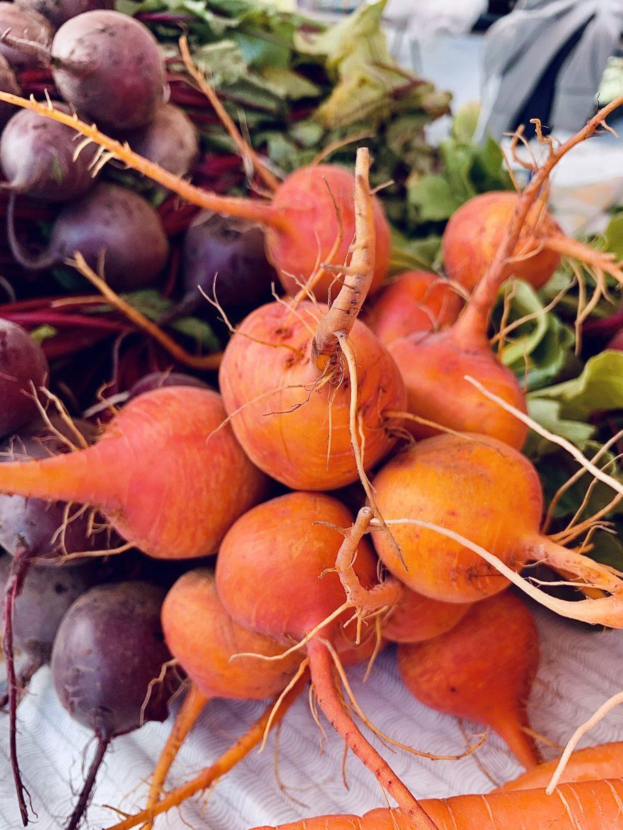 Beets at the farmer's market