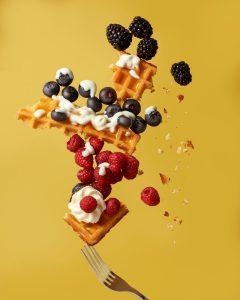 Forest Fruit Waffle